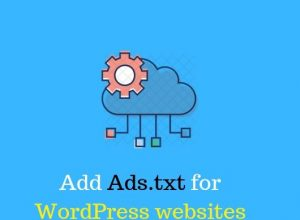 Ads.txt for WordPress