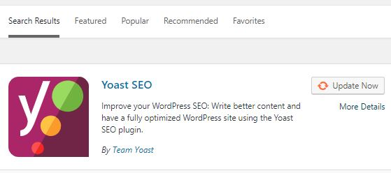 Submit sitemap using Yoast plugin